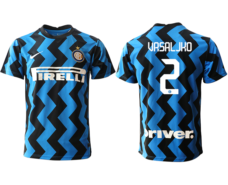 Cheap Men 2020-2021 club Inter Milan home aaa versio 2 blue Soccer Jerseys