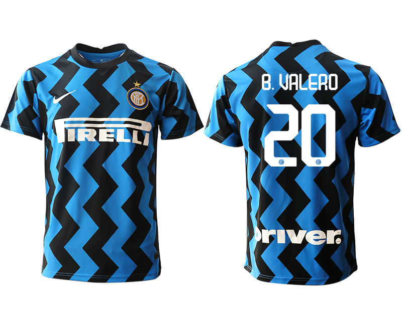 Cheap Men 2020-2021 club Inter Milan home aaa versio 20 blue Soccer Jerseys