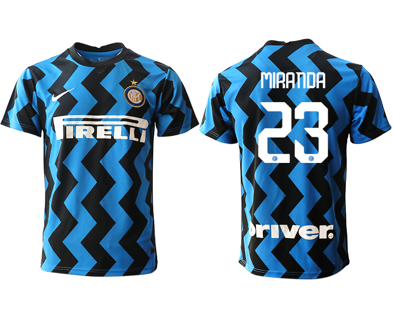 Cheap Men 2020-2021 club Inter Milan home aaa versio 23 blue Soccer Jerseys