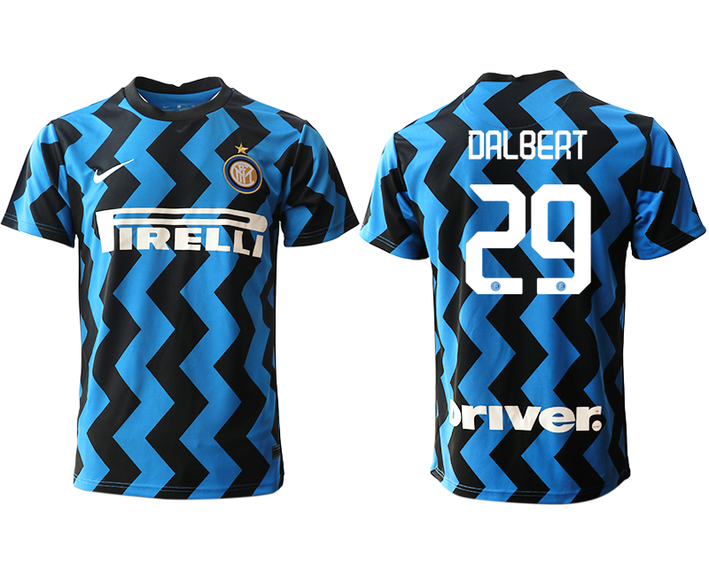 Cheap Men 2020-2021 club Inter Milan home aaa versio 29 blue Soccer Jerseys