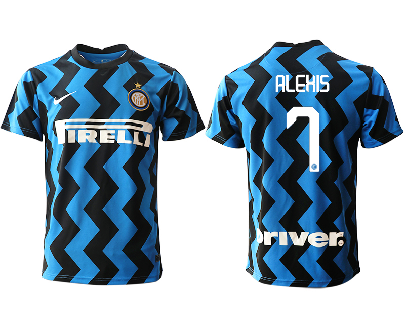 Cheap Men 2020-2021 club Inter Milan home aaa versio 7 blue Soccer Jerseys
