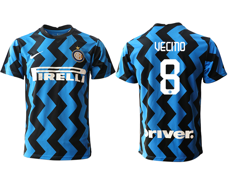 Cheap Men 2020-2021 club Inter Milan home aaa versio 8 blue Soccer Jerseys
