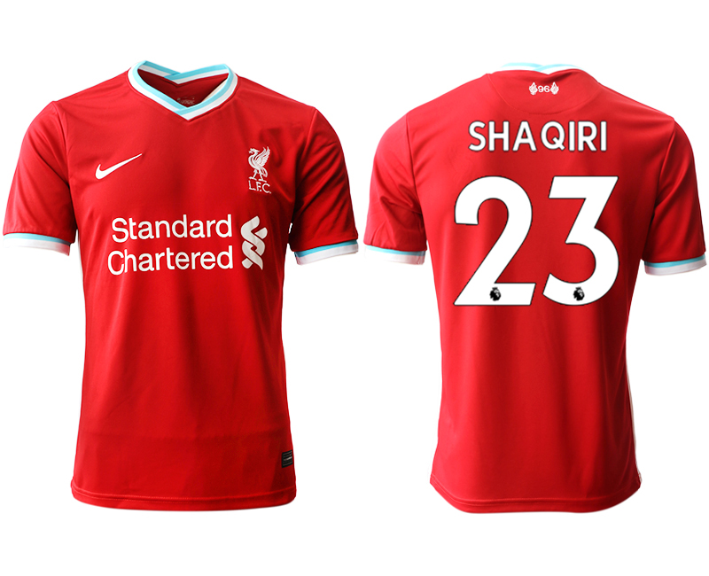 Cheap Men 2020-2021 club Liverpool home aaa version 23 red Soccer Jerseys