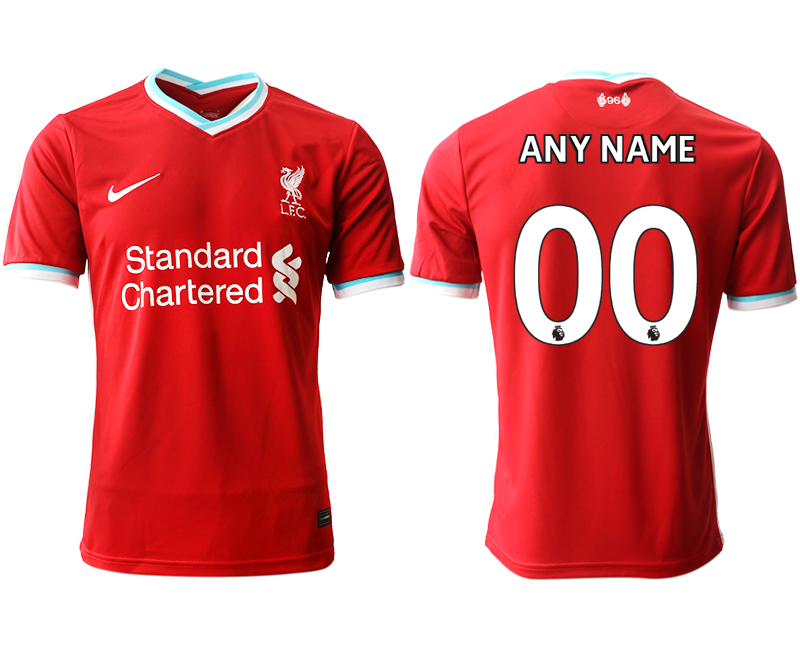 Cheap Men 2020-2021 club Liverpool home aaa version customized red Soccer Jerseys