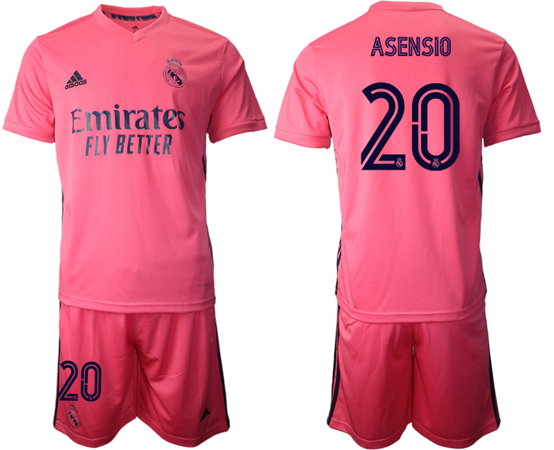 Cheap Men 2020-2021 club Real Madrid away 20 pink Soccer Jerseys