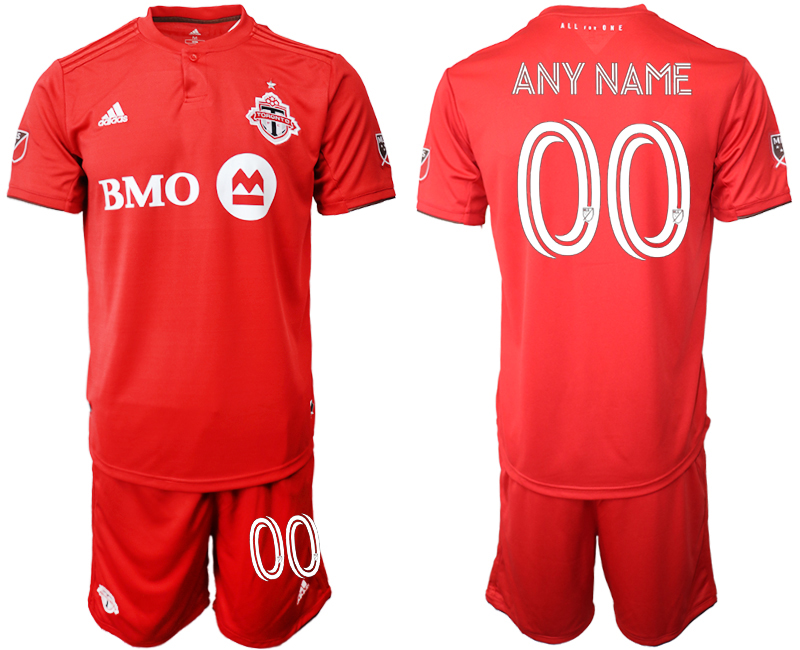 Cheap Men 2020-2021 club Toronto FC home customized red Soccer Jerseys