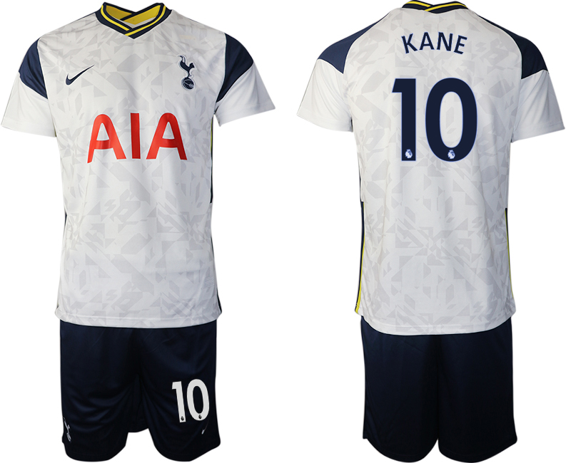 Wholesale Men 2020-2021 club Tottenham home 10 white Soccer Jerseys
