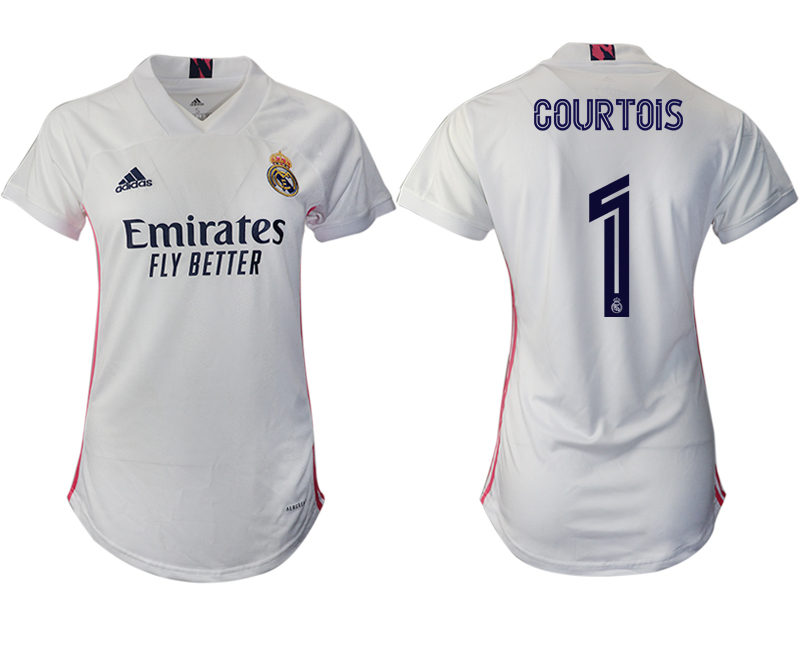 Cheap Women 2020-2021 Real Madrid home aaa version 1 white Soccer Jerseys