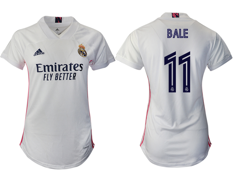 Cheap Women 2020-2021 Real Madrid home aaa version 11 white Soccer Jerseys1