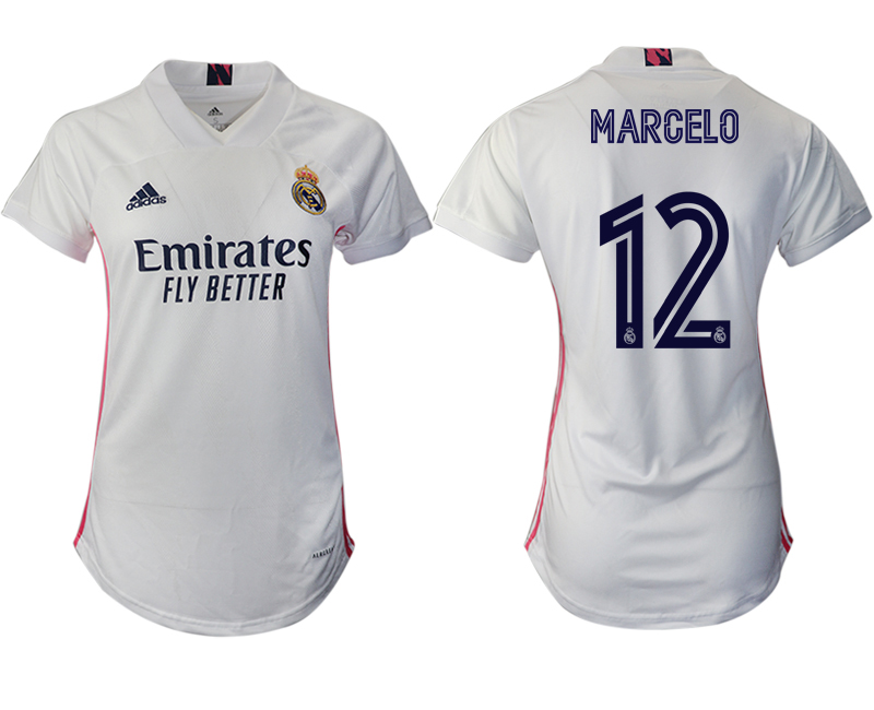 Cheap Women 2020-2021 Real Madrid home aaa version 12 white Soccer Jerseys