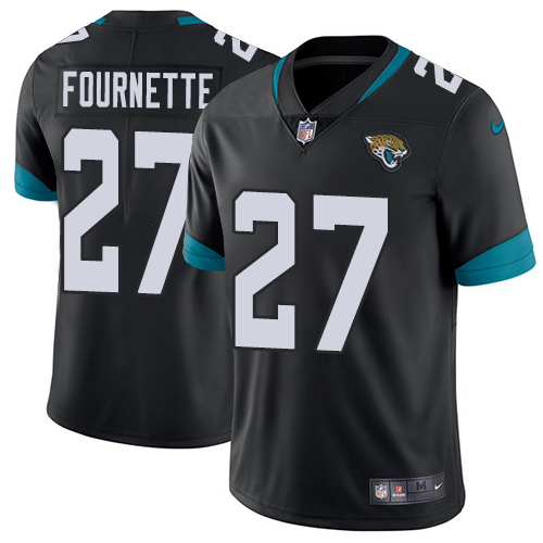 Wholesale Nike Jacksonville Jaguars 27 Leonard Fournette Black Team Color Men Stitched NFL Vapor Untouchable Limited Jersey