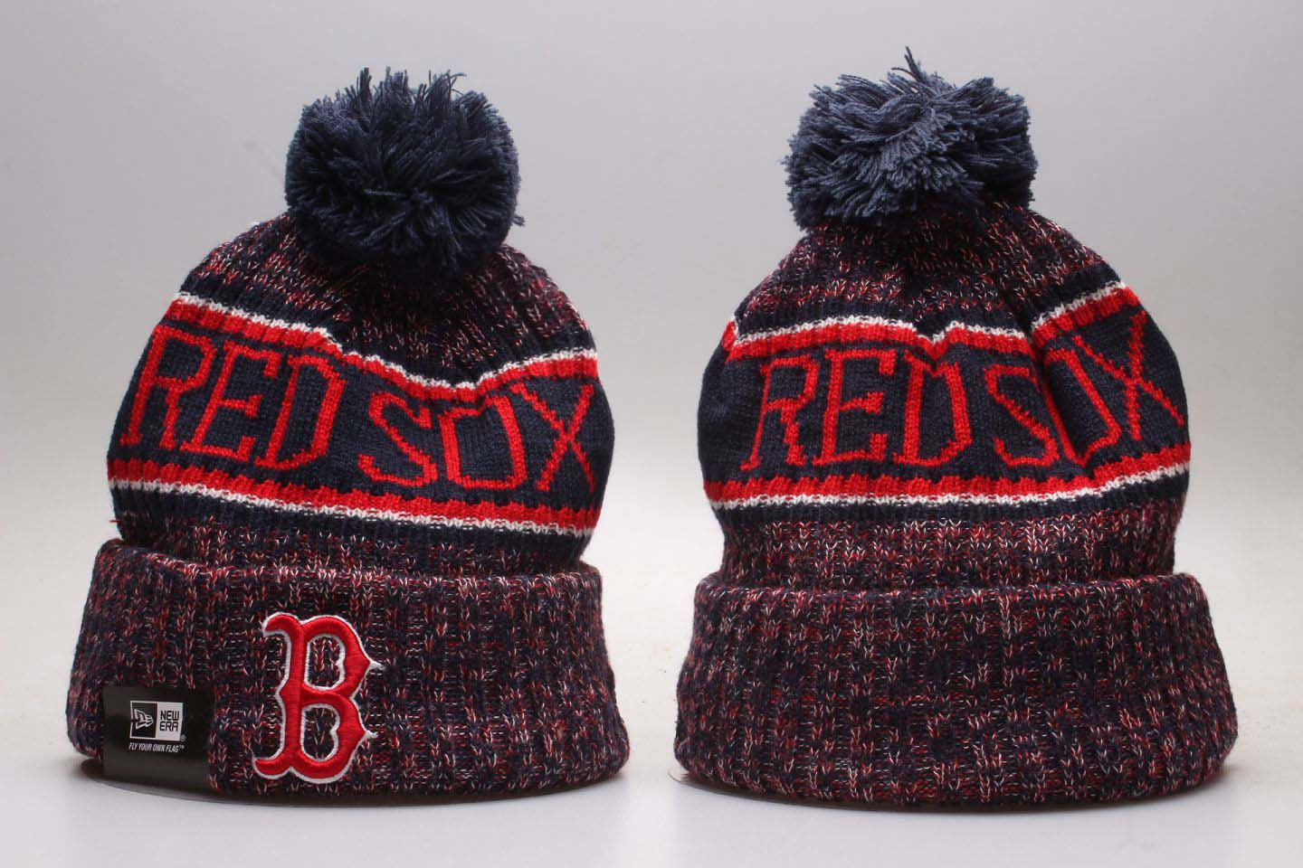 2020 MLB Boston Red Sox Beanies 10