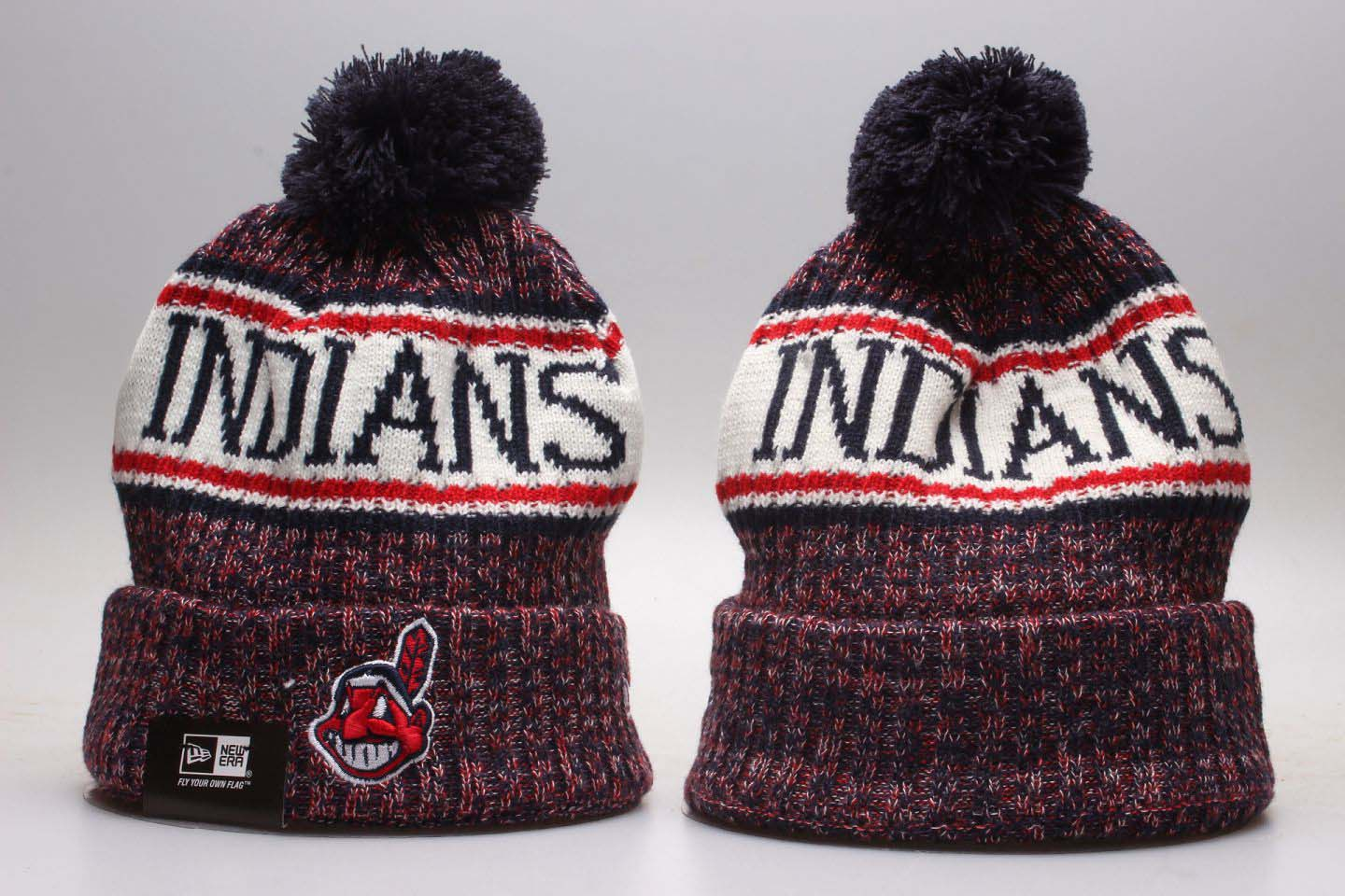 Cheap 2020 MLB Cleveland Indians Beanies 11