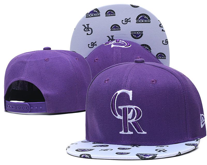 Wholesale 2020 MLB Colorado Rockies Hat 20201192