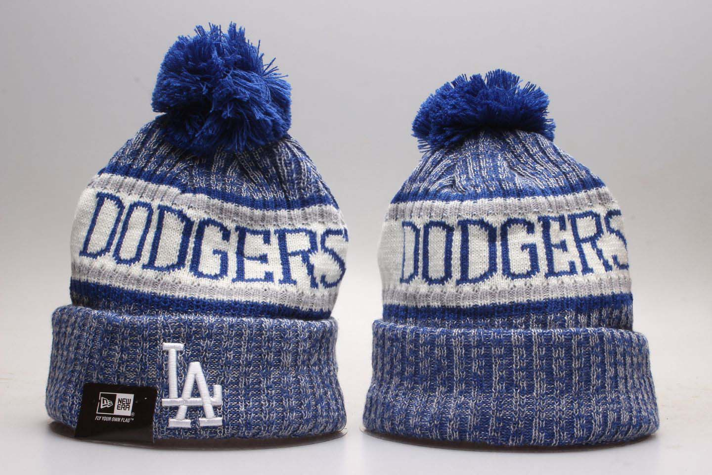 Wholesale 2020 MLB Los Angeles Dodgers Beanies 7
