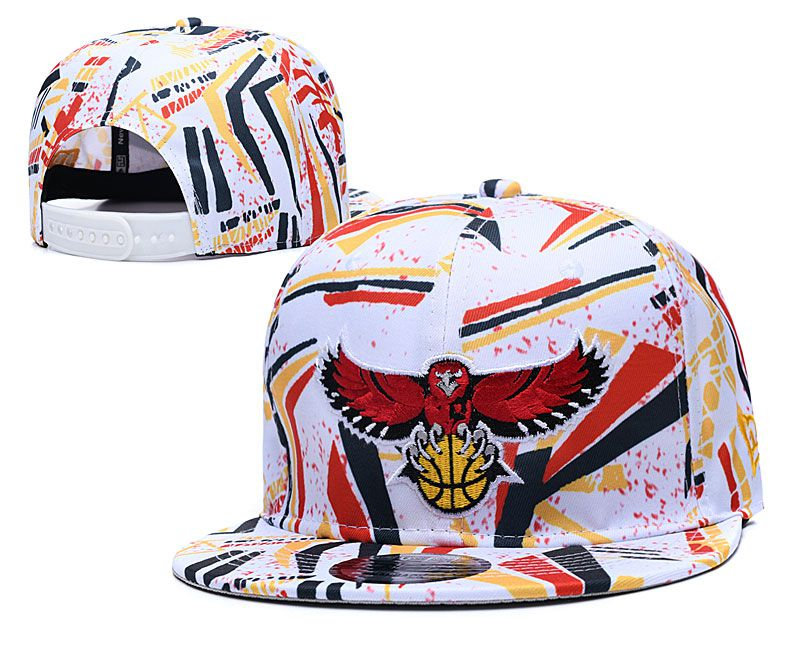 2020 NBA Atlanta Hawks Hat 2020119