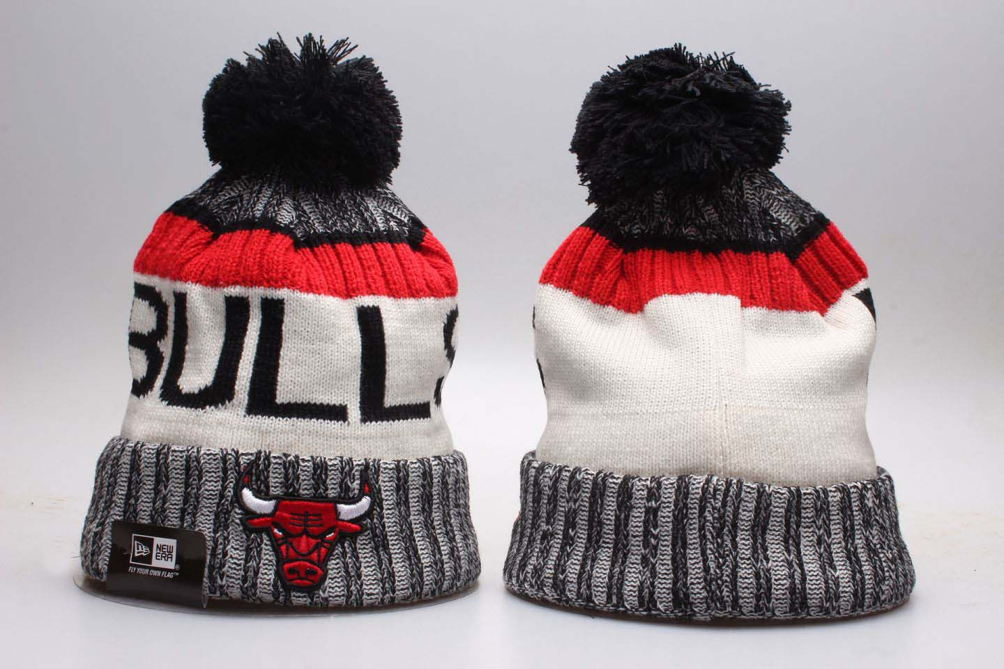 Cheap 2020 NBA Chicago Bulls 3 Beanies