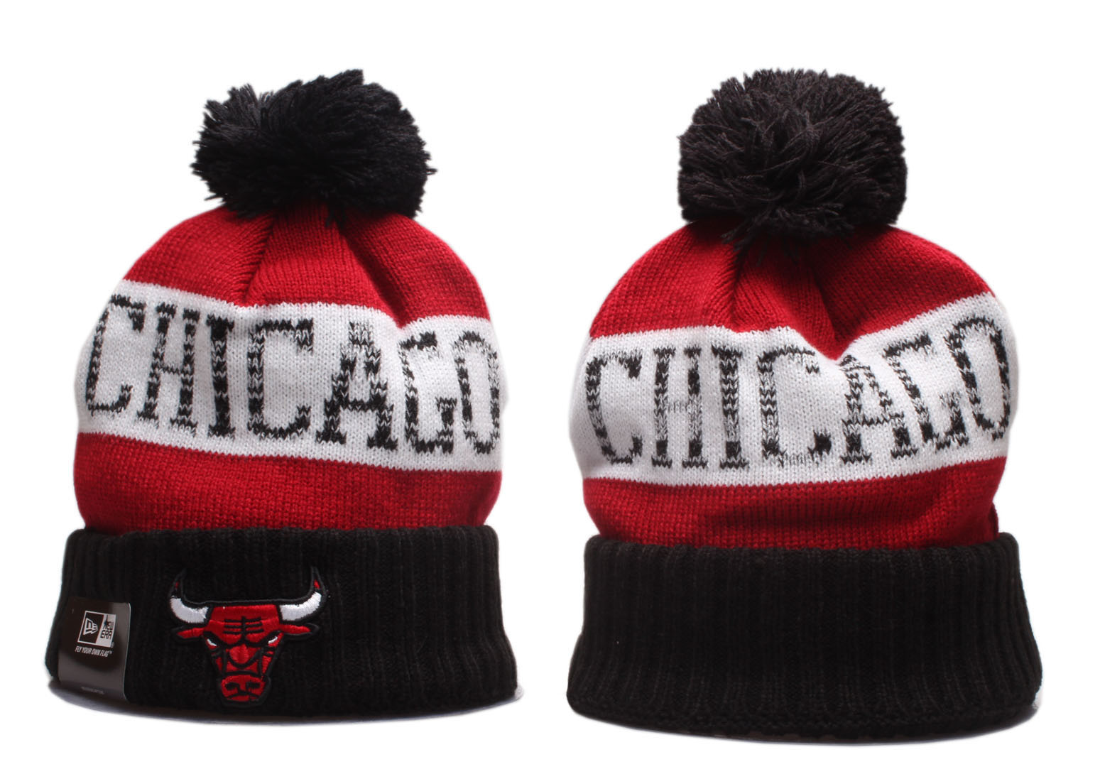 Cheap 2020 NBA Chicago Bulls Beanies
