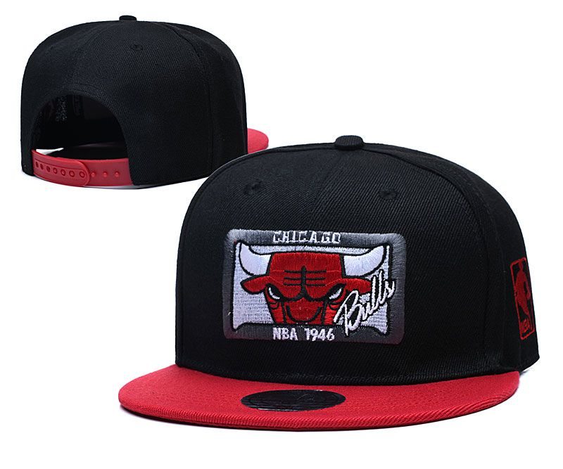 Cheap 2020 NBA Chicago Bulls Hat 202011912