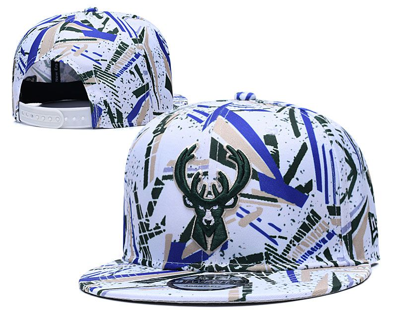 Wholesale 2020 NBA Milwaukee Bucks Hat 20201191
