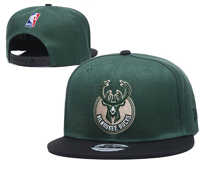 Wholesale 2020 NBA Milwaukee Bucks Hat 20201194