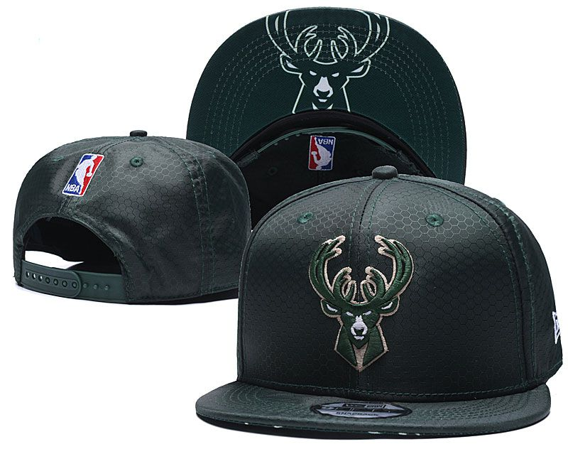 Wholesale 2020 NBA Milwaukee Bucks Hat 20201195