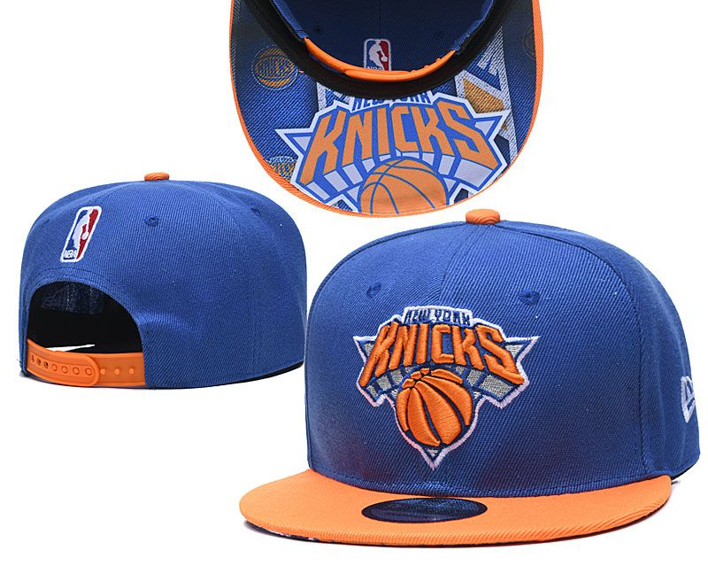 Cheap 2020 NBA New York Knicks Hat 20201191