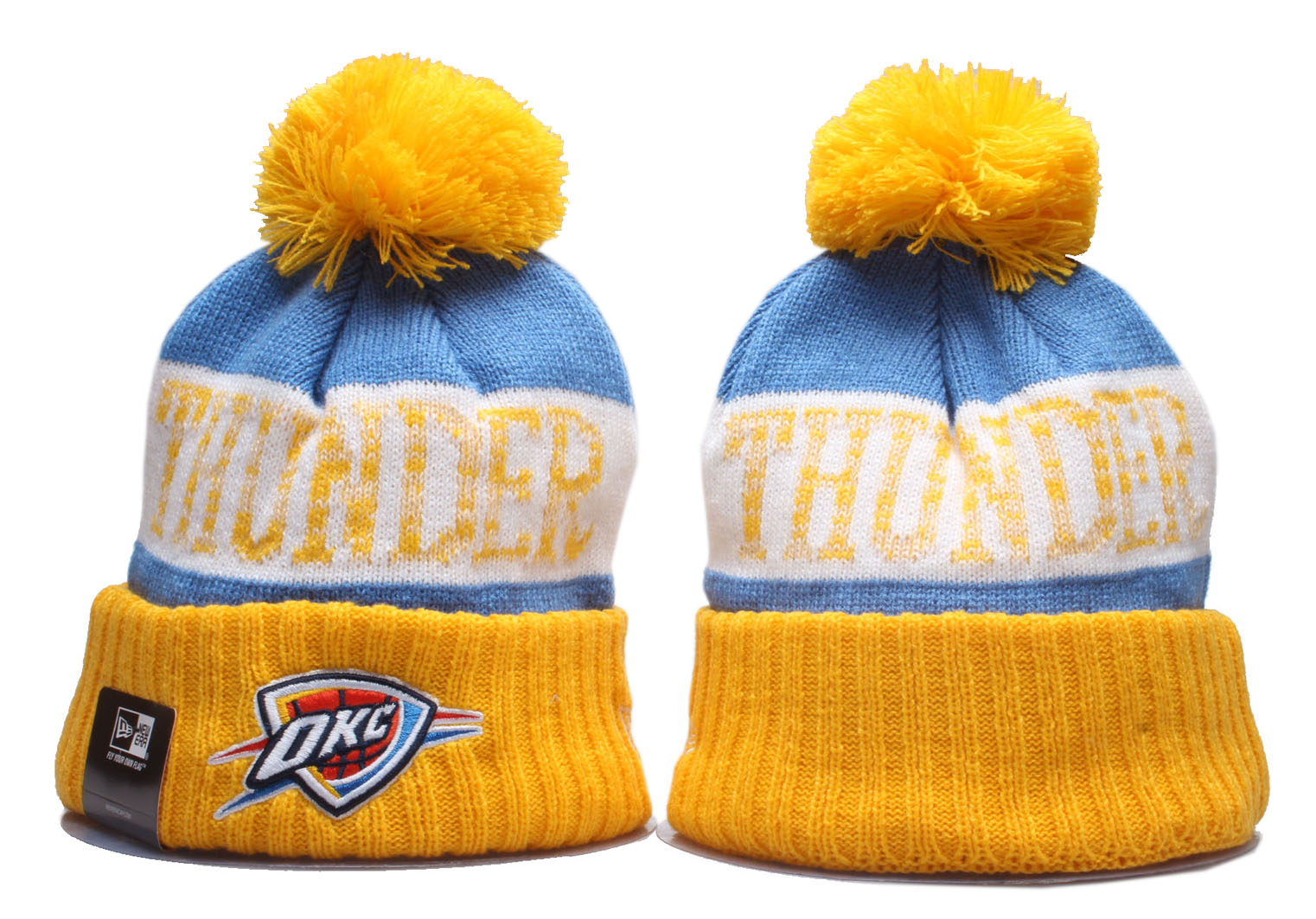 Cheap 2020 NBA Oklahoma City Thunder Beanies