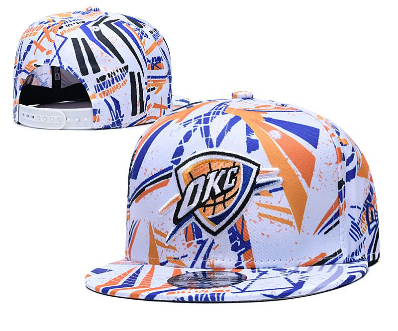 Cheap 2020 NBA Oklahoma City Thunder Hat 2020119