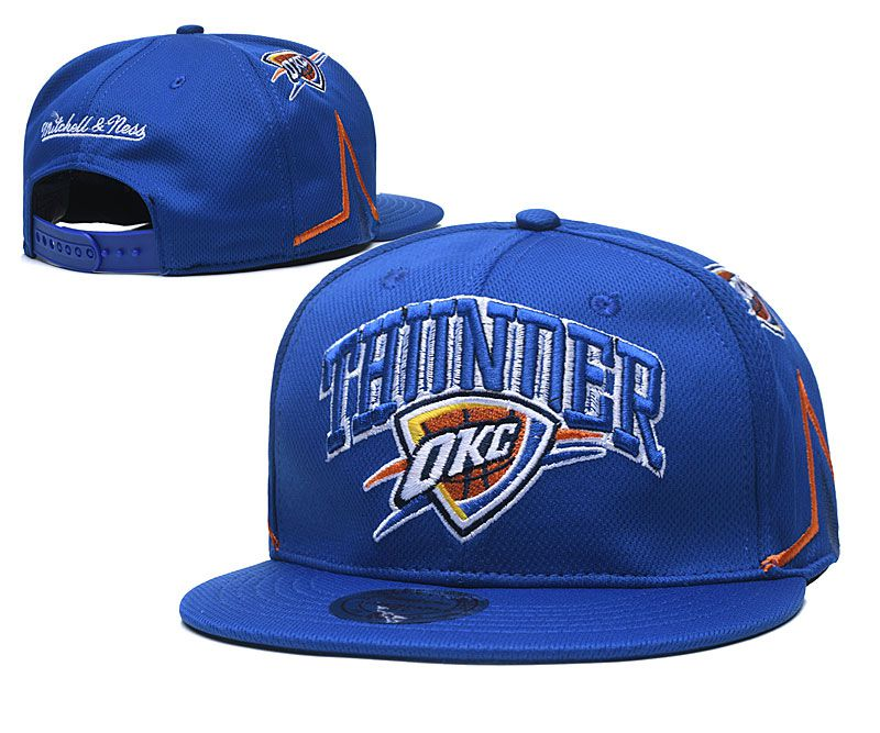Cheap 2020 NBA Oklahoma City Thunder Hat 20201191