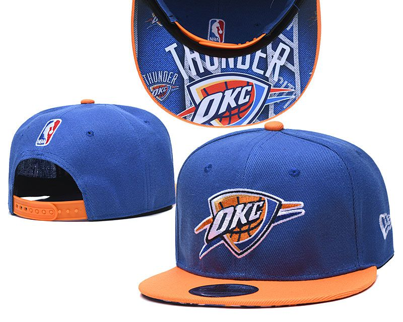 Cheap 2020 NBA Oklahoma City Thunder Hat 20201192