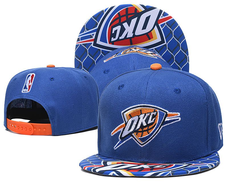 Cheap 2020 NBA Oklahoma City Thunder Hat 20201193