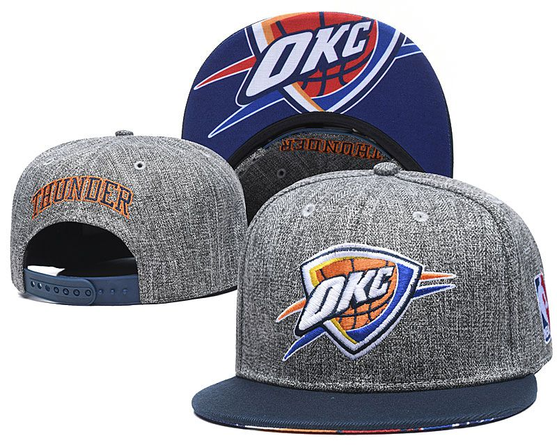 Cheap 2020 NBA Oklahoma City Thunder Hat 20201195