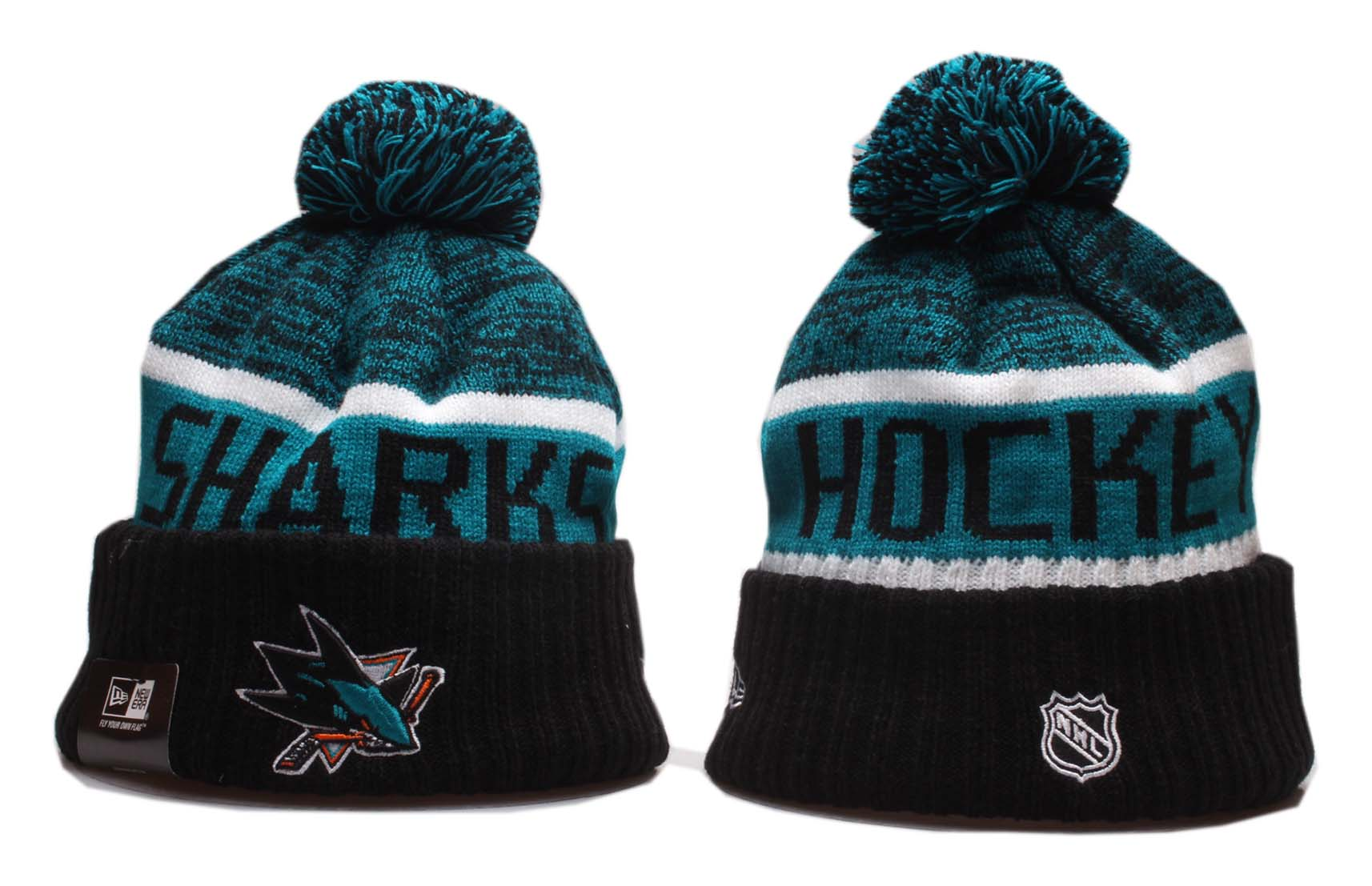Cheap 2020 NHL San Jose Sharks Beanies 13