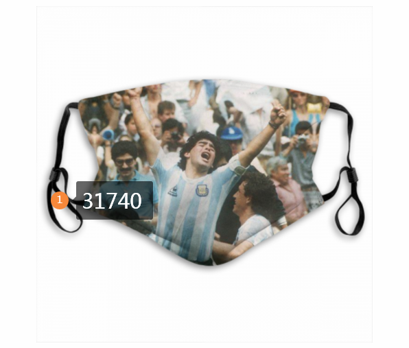 Wholesale 2020 Soccer 19 Dust mask with filter