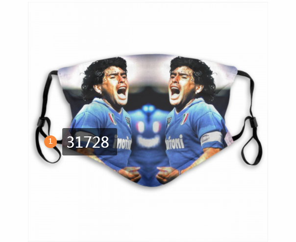 Wholesale 2020 Soccer 31 Dust mask with filter