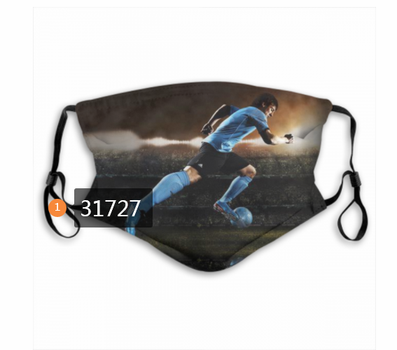 Wholesale 2020 Soccer 32 Dust mask with filter