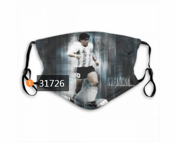 Wholesale 2020 Soccer 33 Dust mask with filter