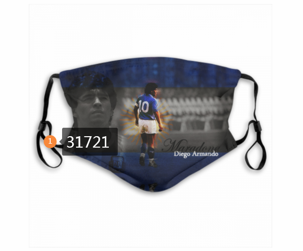 Wholesale 2020 Soccer 38 Dust mask with filter