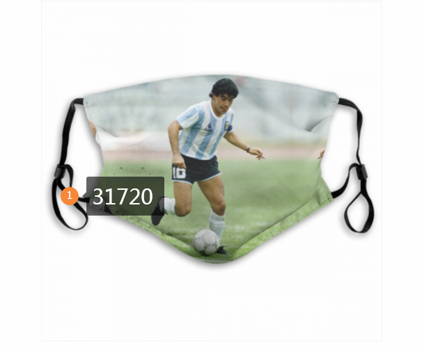 Wholesale 2020 Soccer 39 Dust mask with filter