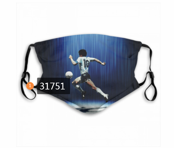 Wholesale 2020 Soccer 8 Dust mask with filter