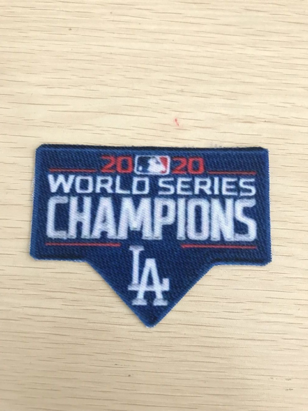 2020 World Series champions patch
