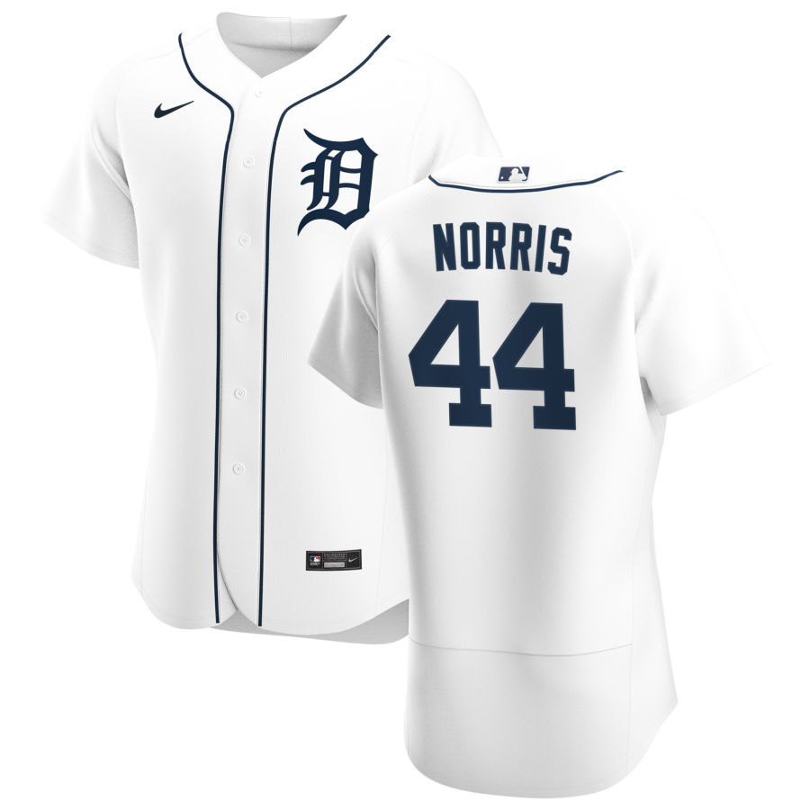 Cheap Detroit Tigers 44 Daniel Norris Men Nike White Home 2020 Authentic Player MLB Jersey