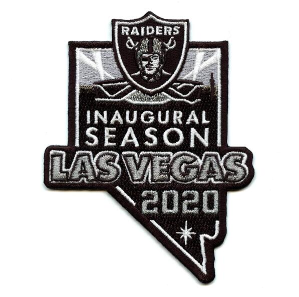Las vegas raiders 2020 patch