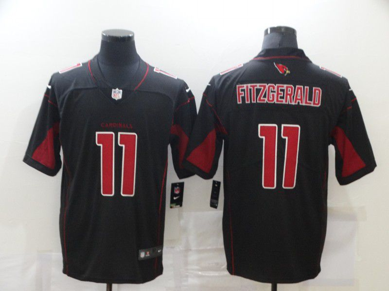 Cheap Men Arizona Cardinals 11 Fitzgerald Black Nike Vapor Untouchable Limited 2020 NFL Nike Jerseys