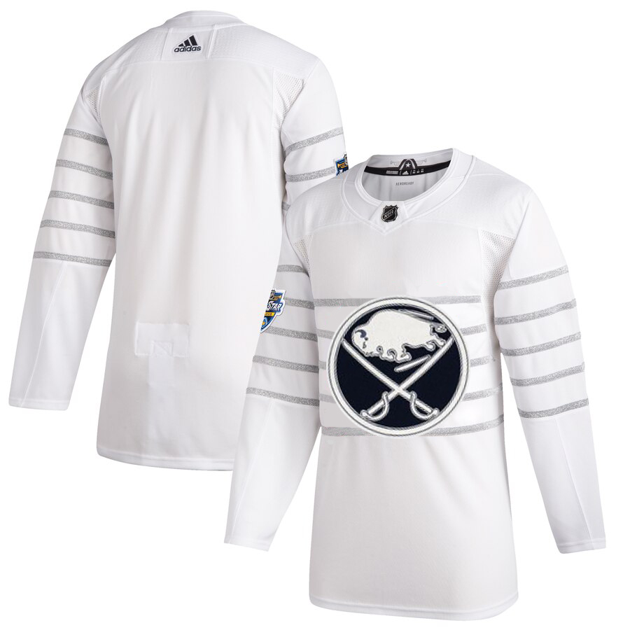 Cheap Men Buffalo Sabres Adidas White 2020 NHL All Star Game Authentic Jersey