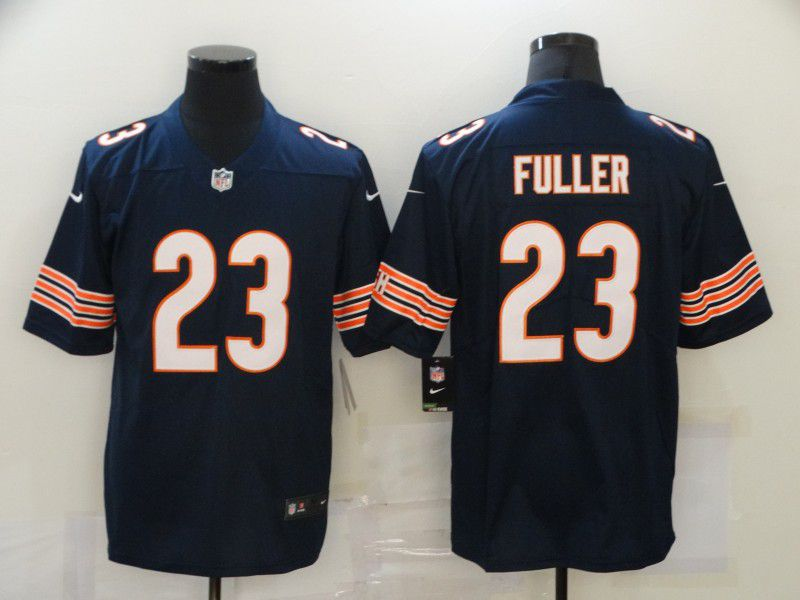Cheap Men Chicago Bears 23 Fuller Blue Nike Vapor Untouchable Limited 2020 NFL Nike Jerseys