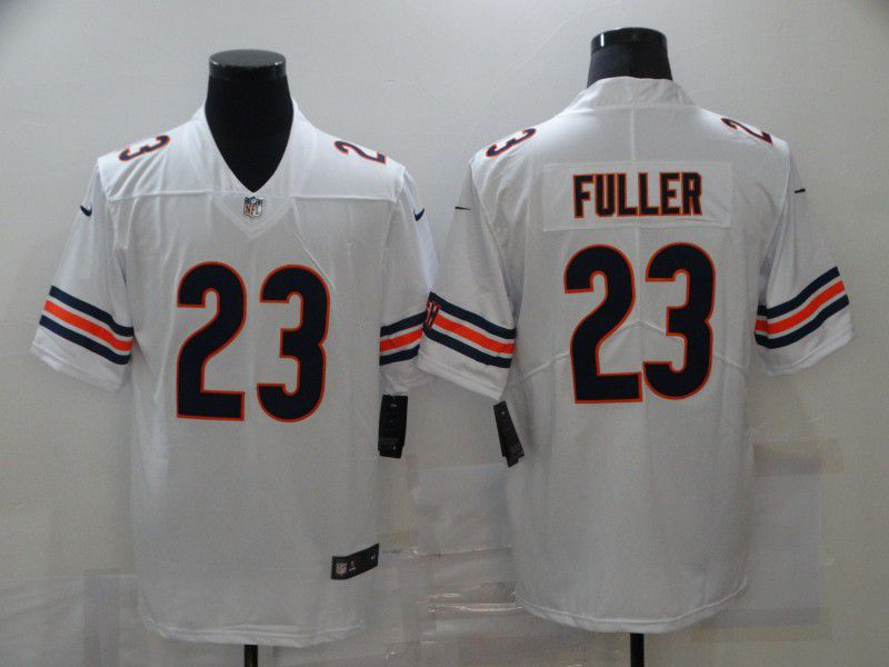Cheap Men Chicago Bears 23 Fuller White Nike Vapor Untouchable Limited 2020 NFL Nike Jerseys