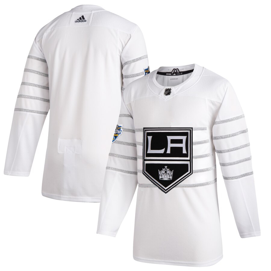 Wholesale Men Los Angeles Kings Adidas White 2020 NHL All Star Game Authentic Jersey