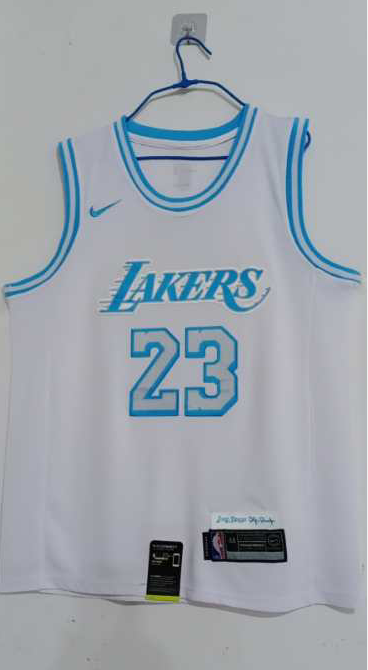 Wholesale Men Los Angeles Lakers 23 James White Limited city Edition Nike NBA Jerseys